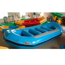 Inflatable Boat / ocean inflatable fishing raft boat for sale
