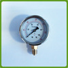 All stainless steel industrial bourdon tube pressure gauge