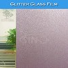 D004 Window Decoration Glitter Colored Glass Protective Film