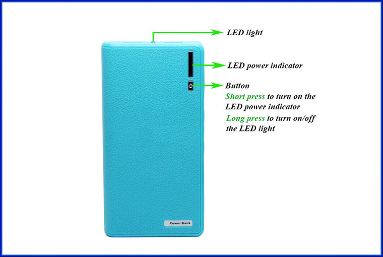 New design fast charged high quality orange power bank