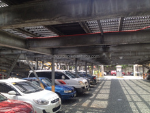 Prefabricated Structural Steel Parking For Sale PEB Car Park Lot Fabrication