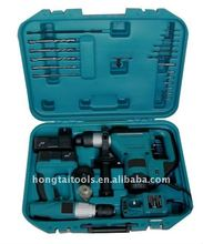 2PCS heavy-duty drill set with Hammer drill and 24Volt drill