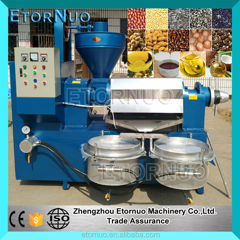 High Edible Oil Output Cold Press Automatic Cannabis Oil Extraction Machine