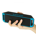 Portable Wireless Speaker Stereo Handsfree Column Sound Box BT Speaker With Mic Support FM TF Card For Cell Phones PC