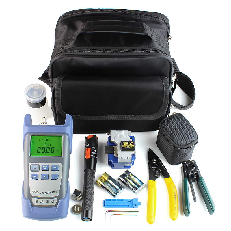 Fiber Optic Tool Kit / OTDR Optical Power Meter VFL OLS