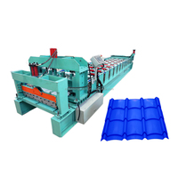 China new condition glazed tile roll making machine