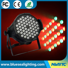 Factory price DMX 54x3w rgbw par can led par 64 led par light