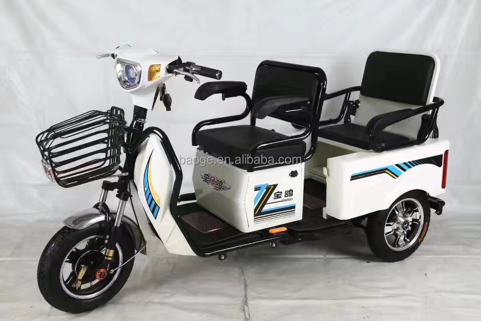 2017 hot sale Popular cheap electric motorcycle electric passenger tricycle