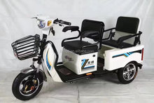 2017 hot sale Popular cheap electric tricycle bike motorcycle passenger three wheel bicycle tricycle
