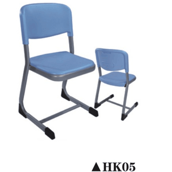 Old design school furniture steel reinforcing chairs HK05