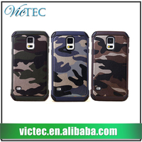 Stylish wholesale camouflage pattern for Samsung Galaxy S5 Hybrid Armor Case