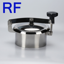 RF Beer equipment parts Stainless steel sanitary tank equipment fluid facility manhole cover for sale