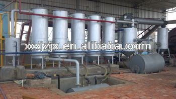Continuous purify oil refinery line with CE&ISO