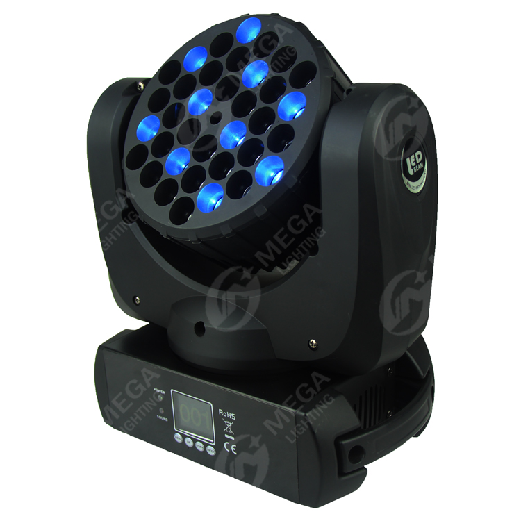 China factory CE&RoHS 36x3w RGBW LED beam moving head lights DMX512