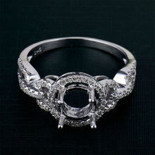 High quality diamond ring semi mount 14k gold for wholesale