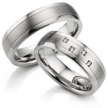 Mens And Womens Surgical Titanium Stainless Steel Wedding Bands Couples Rings Engagement Rings