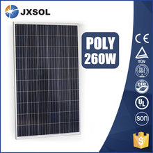 Hot product solar panel 260w poly solar panel with best price per watt