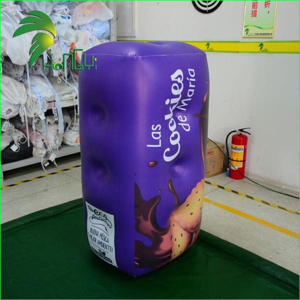 Custom Made Inflatable Biscuits Box Model for Shop Advertising