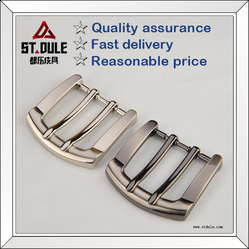 Top quality 40mm double pin belt buckle