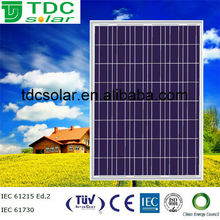 High power Polycrystalline TDC-P205-54 solar module/cells/panels