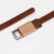 Customized leather belt handmade classic belt camel leather belt with metal buckle