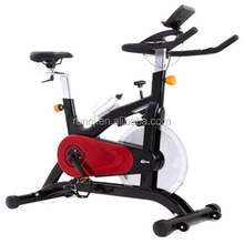 CJS=350 Pro Exercise Bike Upright Fan Bicycle Cardio Burn Fat Lose Weight