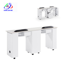 double manicure table km-n031-2