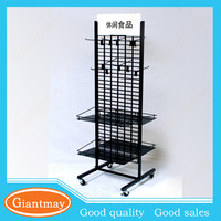 custom foot care product wire display stands rack with hooks