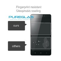 Fingerprint Resistant Mobile Mirror Tempered Glass Screen Protectors for Lenovo A6000