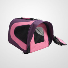 2015 Best selling Soft-Sided Travel Carrier pet dog and cat Tote Bag