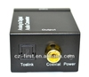 new Digital Optical toslink switch Coaxial Toslink to Analog RCA Audio Converter