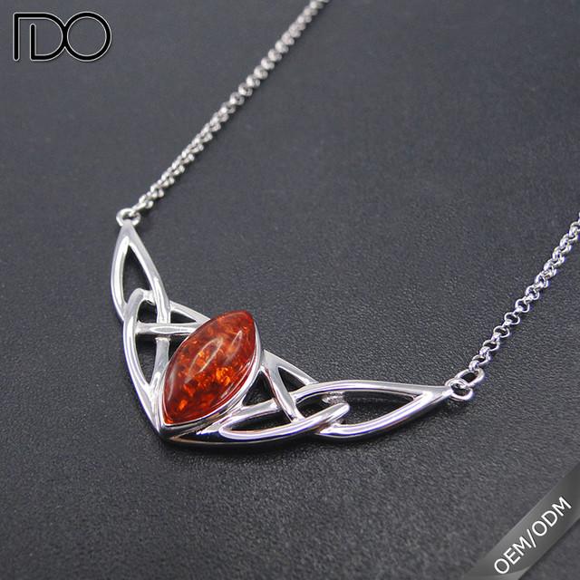 trade assurance amber pendant holder