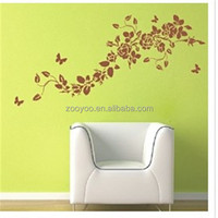 zooyoo8005vinyl Removable wall art sticker decorative home interior decor wall fashion wallpaper butterfly