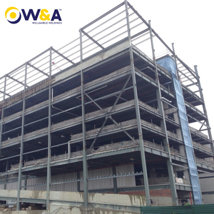 (HFW-38)Prefabricated Industrial Commercial and Residential Steel Structure Building