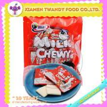 Milk chewy soft gummy candy