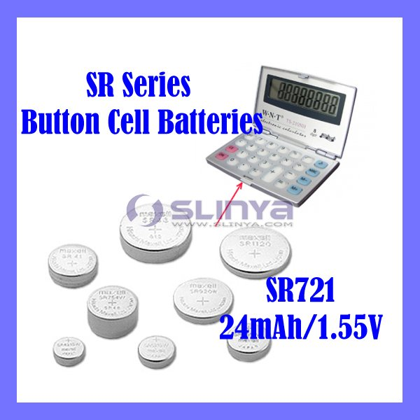 Smooth Alkaline Cell SR721 SR Series Watch Battery
