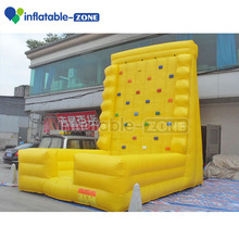 Inflatable rock climbing wall for kids, indoor kids used rock climbing wall ,rock climbing wall price