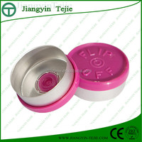 20mm pharmaceutical red flip top cap
