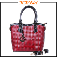 2018 china fashion leather women bags for shopping