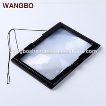 High Quality Desk Stand Illuminated Magnifier reading magnifier