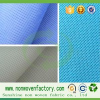 Spun bonded non woven fabric/low price fabric roll/polypropylene price per price