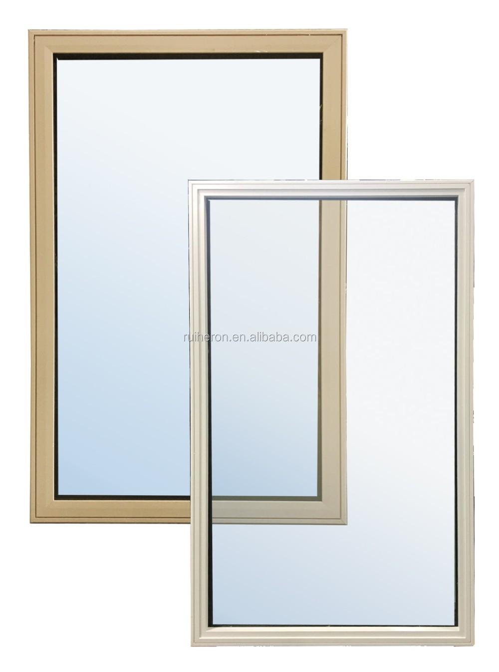 Metal Frame Window Panels : Aluminum frame glass fixed panel window buy