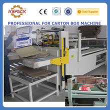 JGG-06052 jin guang carton box factory/Corrugated cardboard automatic carton box folder gluer machine
