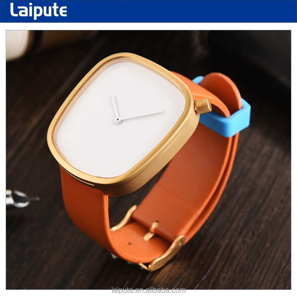 2017 Japan movt stainless steel mesh band and leather band watch unisex high quality minimalist watch 3ATM
