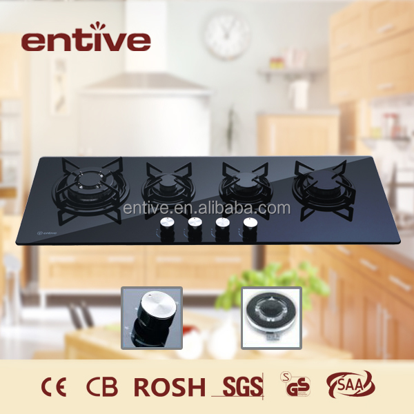 extra wide infrared cooktop with glass top