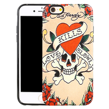 Christmas Promotion Cool Skull Design PC+TPU Hybrid Phone Case Custom for LG K7