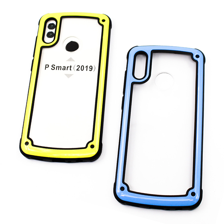 Heavy duty high quality case for huawei P smart 2019 armor slim phone shell