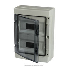 New Type Solid Cover Electrical PVC Waterproof Box Plastic ip66 power distribution Box