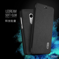 Lenuo soft PU leather flip cover for xiaomi redmi note 4 mobile phone case