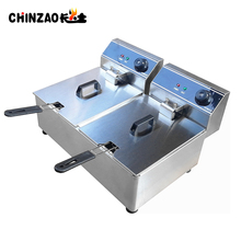 Commercial Electric Deep Fryer Chicken Fries Chips Machine